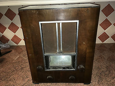 Vintage 1930s Valve Radio,GEC BC3640,Good Cond.,As Found,Superb Project,Complete