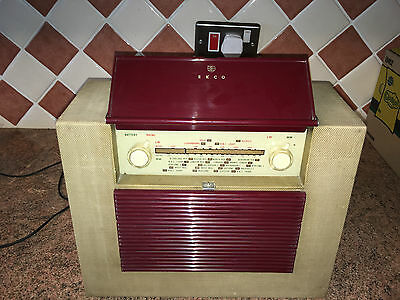 Vintage Ekco MBP149 Compact Valve Radio,Portable,1950s,Working Very Well,Lovely