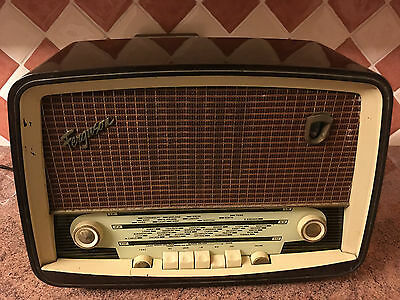 Vintage Valve Radio,Ferguson,c1960,Nice Set,Working Very Well,Elect. Work Done