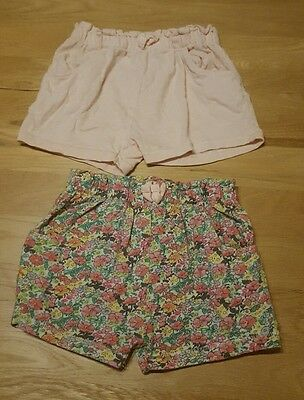 next baby girls 18-24 months shorts x 2 pairs good condition