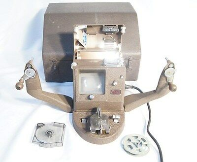 Vintage Bell & Howell Filmo 8mm Viewer Reel with Bulb