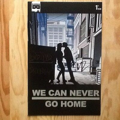We Can Never Go Home #1 Sid And Nancy Variant Signed Rosenberg Forbidden Planet