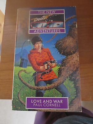 Doctor Who - Love and War by Paul Cornell (Paperback), Good condition