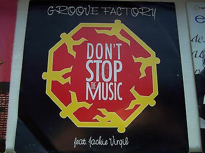 THE GROOVE FACTORY ft JACKIE VIRGIL, DON'T STOP THE MUSIC / STEP INTO THE GROOVE