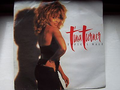 Tina Turner, Typical Male / Don't Turn Around. Original 1986 Capitol Single