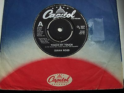 Diana Ross, Touch By Touch / Fight For It. Original 1984 Capitol Single