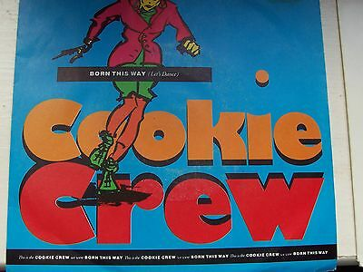 The Cookie Crew, Born This Way (Let's Dance). Original 1989 Ffrr Single