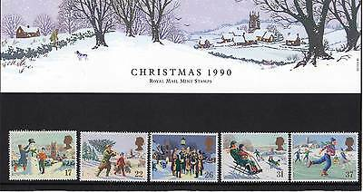 GREAT BRITAIN 1990 Christmas Presentation Pack