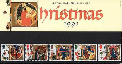 GREAT BRITAIN 1991 Christmas Presentation Pack