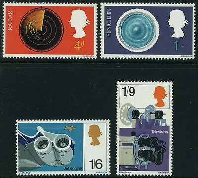 1967  British Discovery And Invention  Set  Sg 752 - 755  Unmounted Mint
