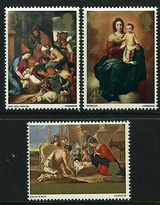 1967  Christmas Set  Sg 756-758   Unmounted Mint