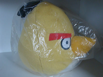"""HUGE Official 16"""" Original Yellow Angry Birds Soft Plush Soft Toy"""