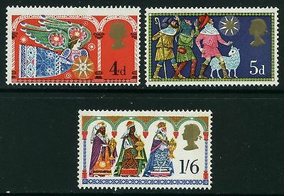 1969  Christmas  Set  Sg 812-814   Unmounted Mint