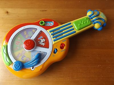 Leapfrog Talking, Singing Spinning Animal Counting Guitar With Music