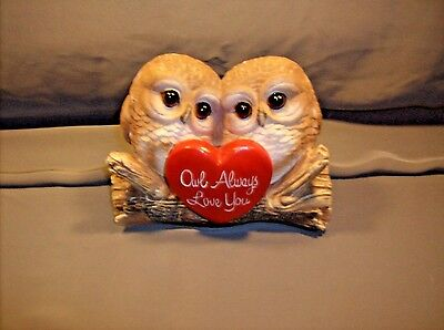 Owl Figure   Owl Always Love You  HD45105  ABC