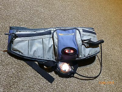 The GoMotion 100 LightBelt - Waist Pack Blue In Great used condition