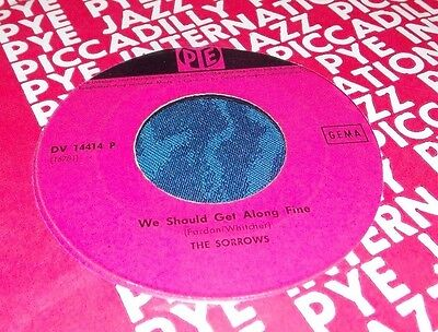 The Sorrows – Take A Heart / We Should Get Along Fine
