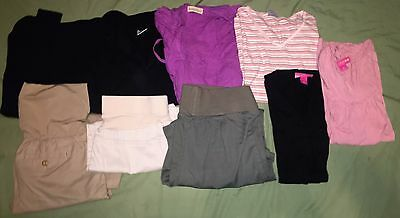 Huge Lot of 9 Maternity Clothes Size Small Liz Lange Gap Motherhood