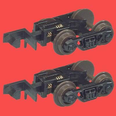 70 TON ROLLER BEARING TRUCK With RAPIDO COUPLERS  ATLAS 22055 N SCALE