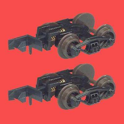 50 TON FRICTION BEARING TRUCKS (Pair) With RAPIDO COUPLERS ATLAS 22050 N SCALE