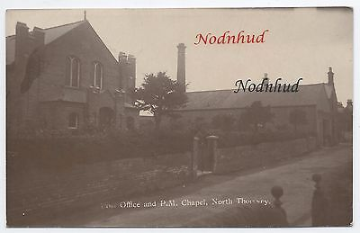NORTH THORESBY;POST OFFICE & PRIMITIVE METH. CHAPEL, RP c.1918, Nr LOUTH/GRIMSBY
