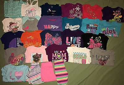 The Children's Place Huge Lot of 26 Girl Clothes 5-6 Name Brand Spring Summer