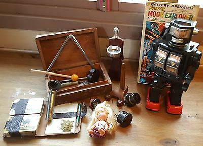 Job Lot of Vintage Collectables including bakelite, dinky and others