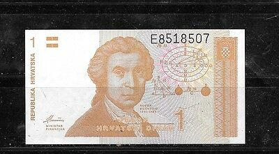 CROATIA #16a UNC MINT DINAR old BANKNOTE NOTE BILL PAPER MONEY CURRENCY
