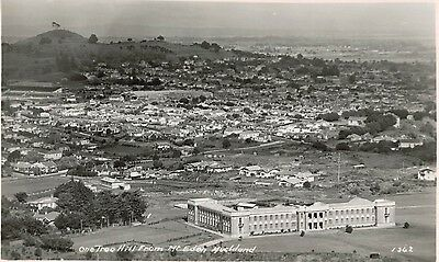 RPPC,Auckland,New Zealand,One Tree Hill from Mt.Eden,c.1930s