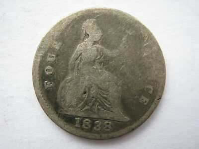 1838 Groat or Fourpence Poor