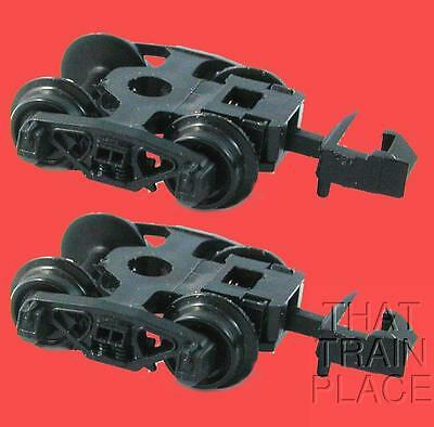 50 TON FRICTION BEARING TRUCKS (Pair) With RAPIDO COUPLERS UNKNOWN N SCALE