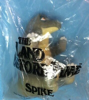 Vtg Pizza Hut Land Before Time Vinyl Rubber Hand Puppet Dinosaur Spike New Nip