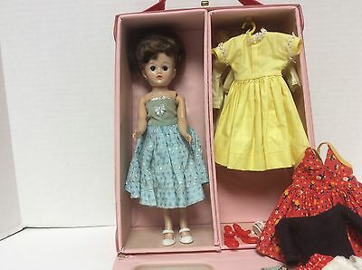 Vogue 1957 Jill Doll W/Case and Clothes
