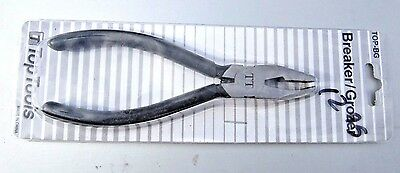 GROZIER / BREAKER Combo Pliers STAINED GLASS TOOL to hold, break and trim glass