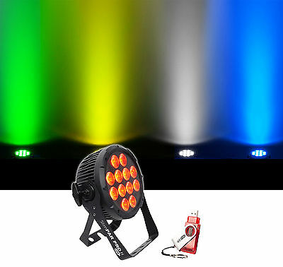 Chauvet DJ SlimPar Pro H USB D-Fi RGBAW+UV LED Wash Light Fixture + Transceiver