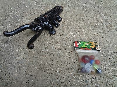 Vintage Nos Texaco Gas Shooter's Marbles In Unopened Package 11 Marbles Good
