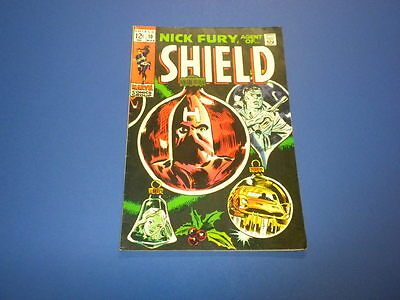 NICK FURY - AGENT OF SHIELD #10 Marvel Comics 1969
