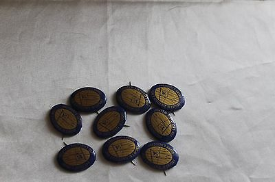 9 Vintage Pinback Buttons President's Award for Excellence in Export 1960s