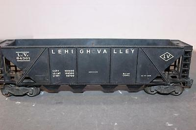 Lionel-  Post-War - 6436 Lehigh Valley Hopper - 0/027- Fair- W58