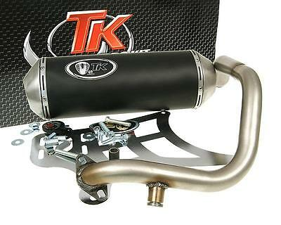 Exhaust Sport With E Characters Turbo Kit GMax 4T for Kymco Grand Dink 250