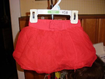 Carters Red Tulle 3 Layer Tutu Styled Skirt 3T