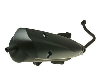 Exhaust black for Honda PCX 125 150 Scooter JF28