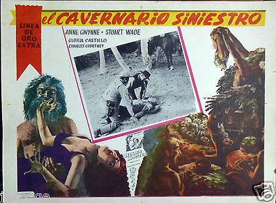 TEENAGE MONSTER Mexican Horror Sci-Fi Lobby Card  STUART WADE CHARLES COURTNEY