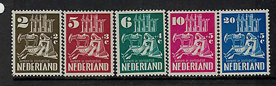 Netherlands 1950 Bombed Churches Fund mint