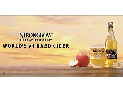 Classic Strongbow Beer Club Beverage Drinks Advertising Display Banner