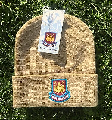 West Ham United Official Beanie Hat