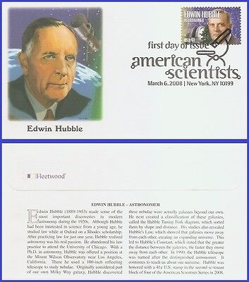 US #4226 U/A FLEETWOOD FDC   Edwin Hubble American Scientists