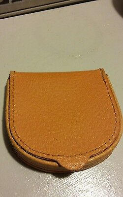 Vintage Pigskin Coin Purse