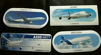 Buy 4 Airbus Stickers For 1 Price