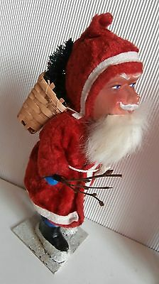 SALE LOWER  PRICE/vintage OLD Christmas Germany Santa claus DOLL figure 10 1/2 ""